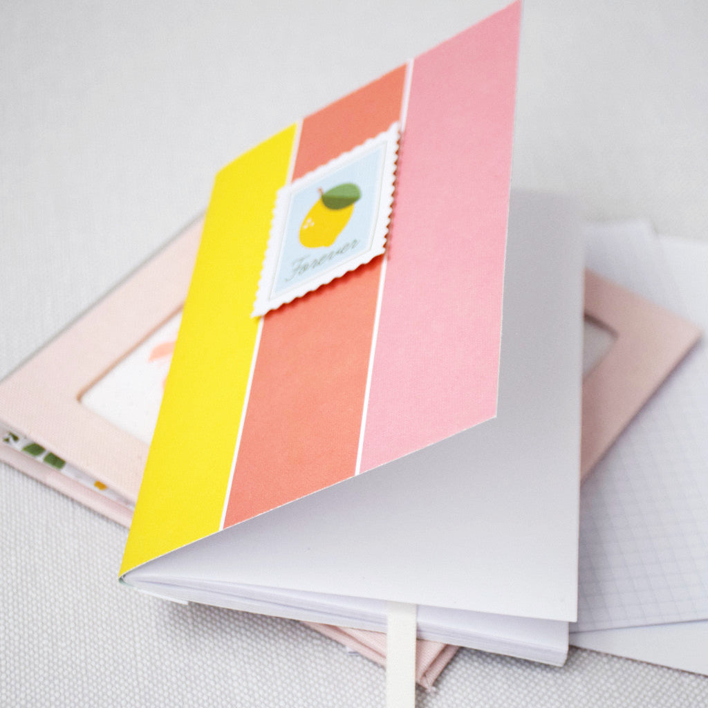 Notebook using Keeping it real and Some Days collections by Pink Fresh Studio