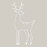 Holiday deer cut file