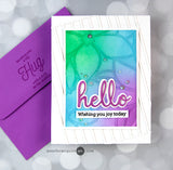 Phrase Builder - Hello die set