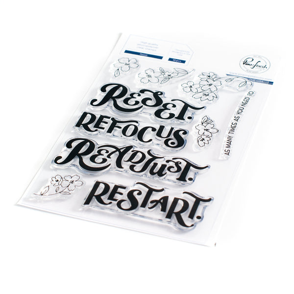 Reset stamp set
