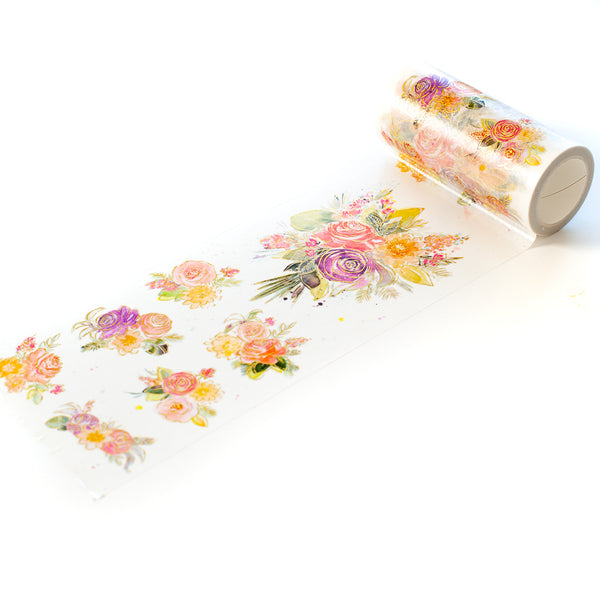 Joyful Bouquet washi tape