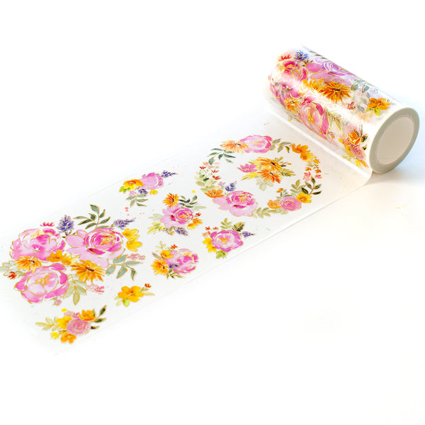 Painted Peony Mix washi tape