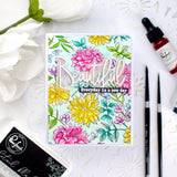Cling Rubber Stamp: Enchanted Blooms