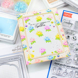Stamping village collaboration stamp set:  Thinking of you