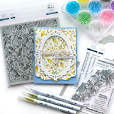 Essentials: Ornate banner die set