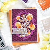 Layered bouquet die