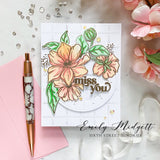 It's a New Day Floral stamp set