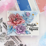 Friendship Blooms stamp set
