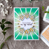 Pop Out: Sunburst Cling Stamp set