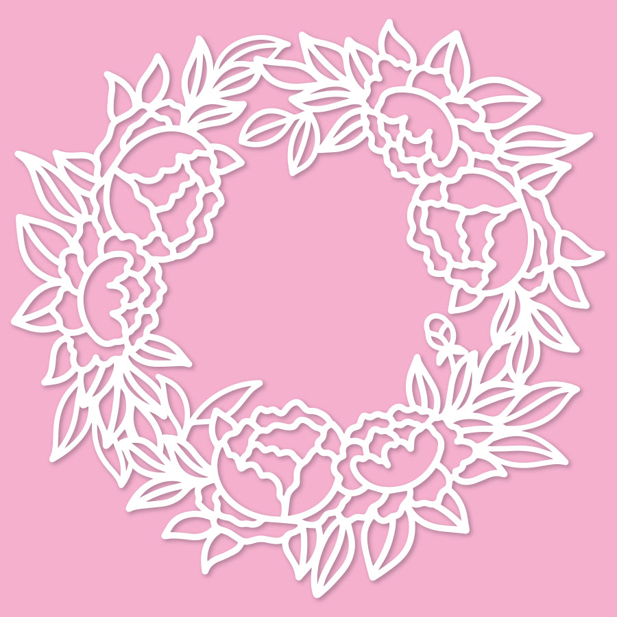 Lovely wreath 1 cut file