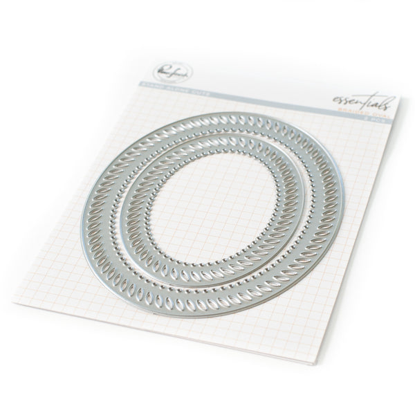 Essentials: Braided oval die set
