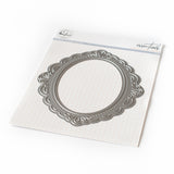Essentials: Ornate oval frame die