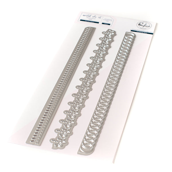Slim lacy edgers die set