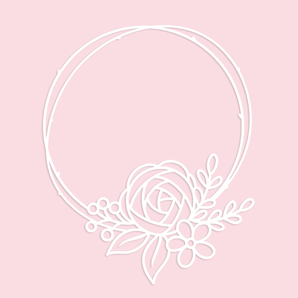 Simple Wreath Cut File