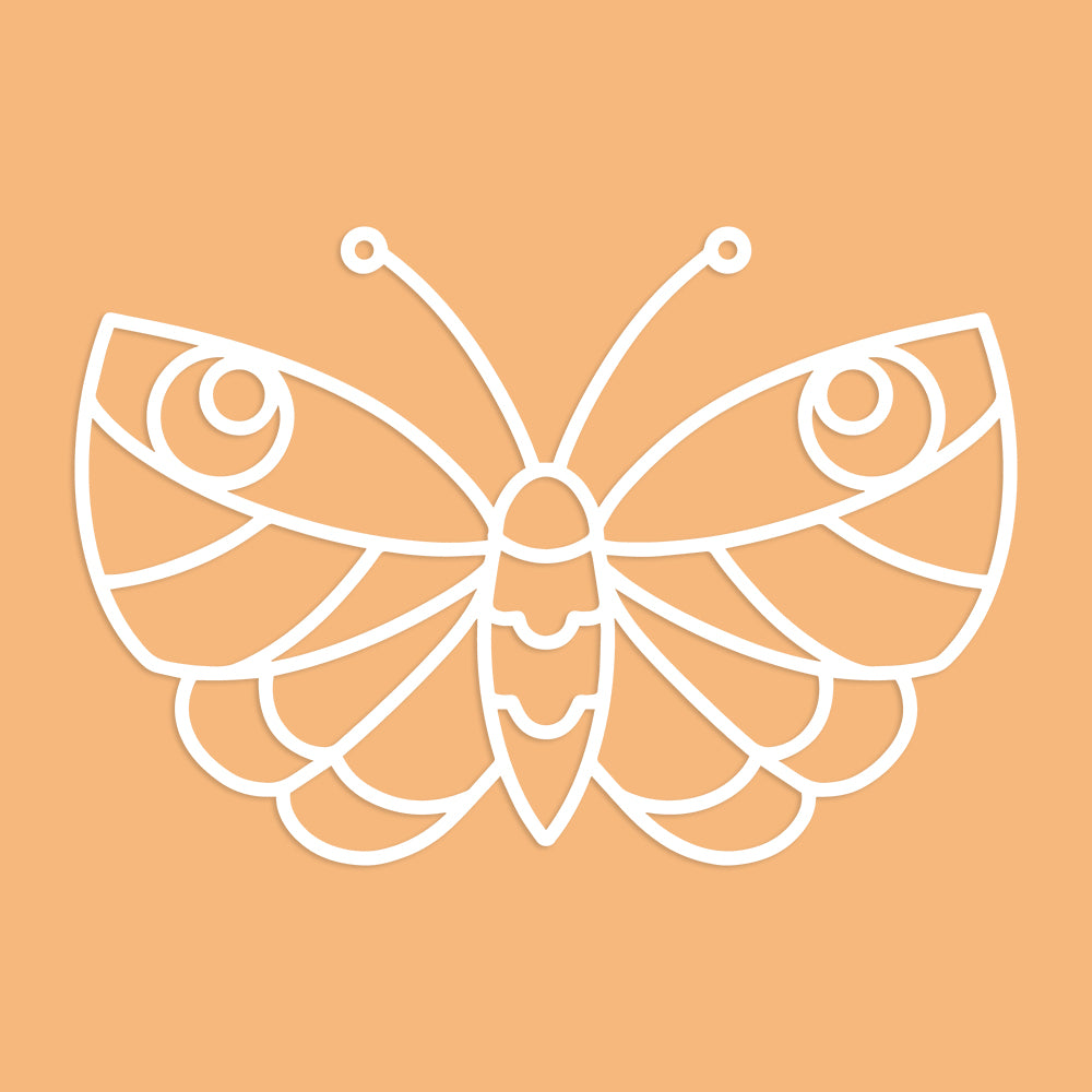 Wide Butterfly Cut File