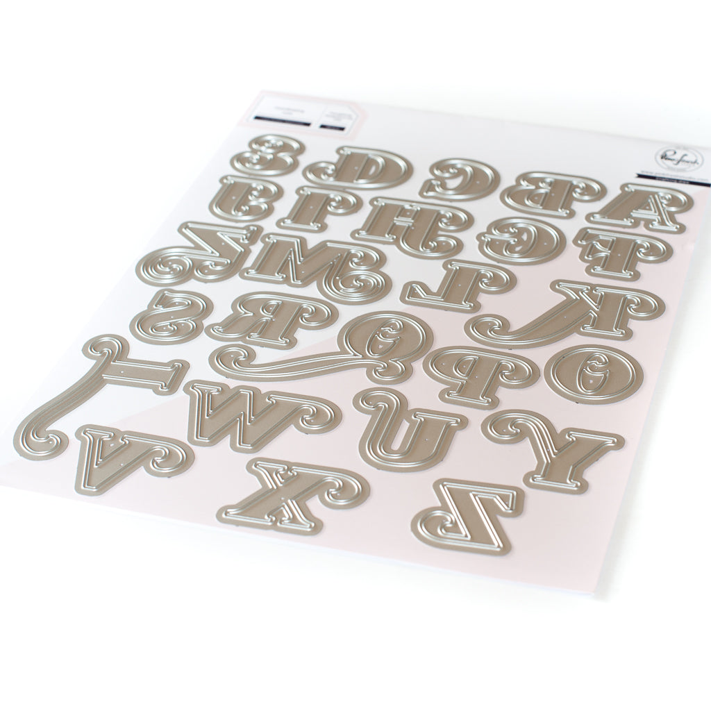 Lea's Ornate Uppercase Die Set
