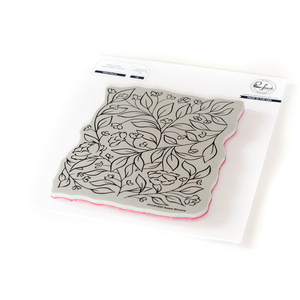 Sweet Blooms Cling Stamp