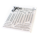 Simply Sentiments - You stamp set