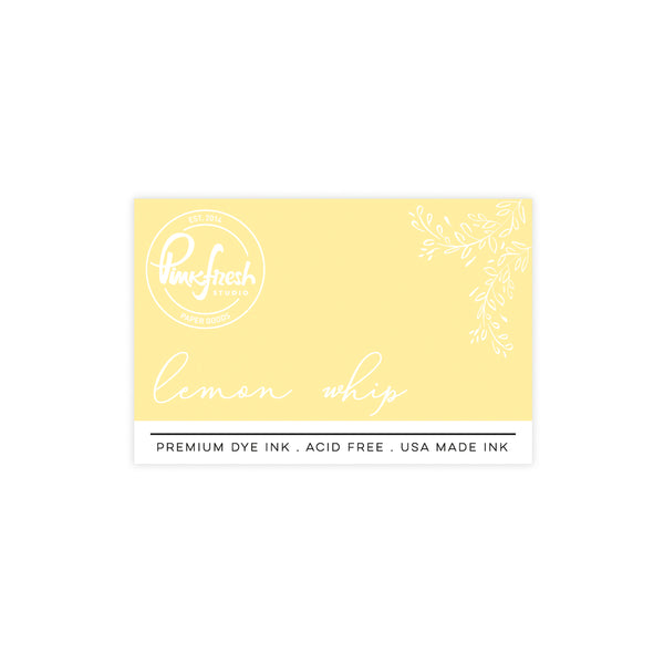 Premium Dye ink Pad : Lemon whip