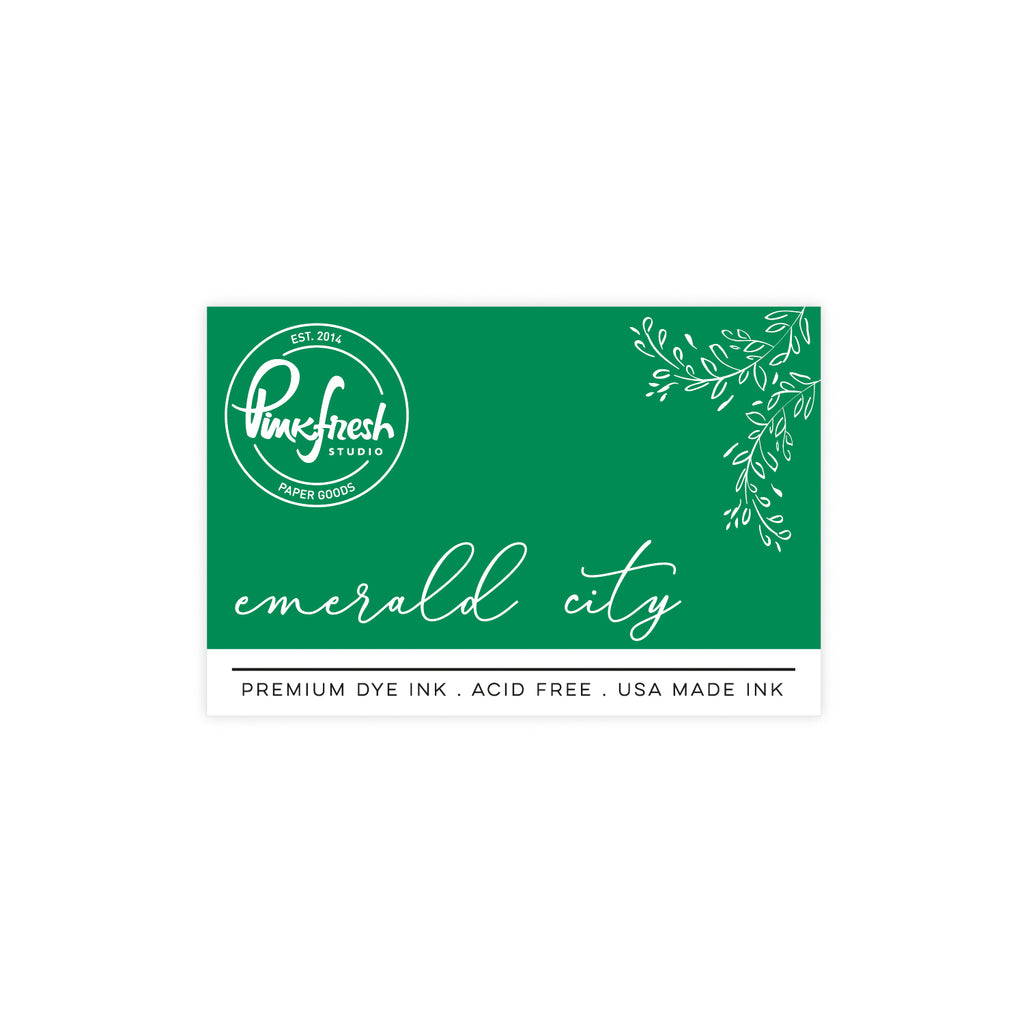 Premium Dye ink Pad : Emerald city