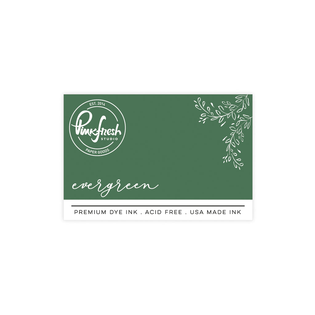 Premium Dye ink Pad : Evergreen