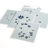 Daisy Wreath Layered Stencil set