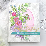 Infinite Blooms Layering stencil set