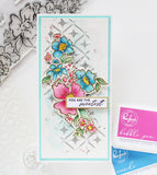 Floral Notes stamp set