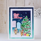 Tree Trimming Friends stamp set