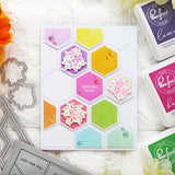 Simply Hexagons die