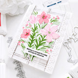 Garden Florals Layered stencil set