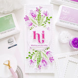 Lea's Ornate Lowercase Stamp Set