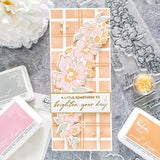 Floral Notes coordinating die set