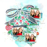 Mistletoe kisses cut file