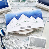 Mountainscape Layered Stencil set