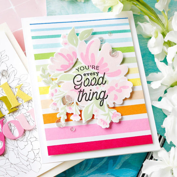 Sending Love and Hugs Coordinating Die Set – Pinkfresh Studio