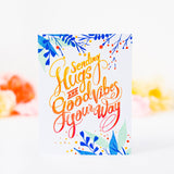 Hugs and Good Vibes stamp set