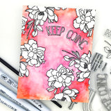 Keep Going stamp set