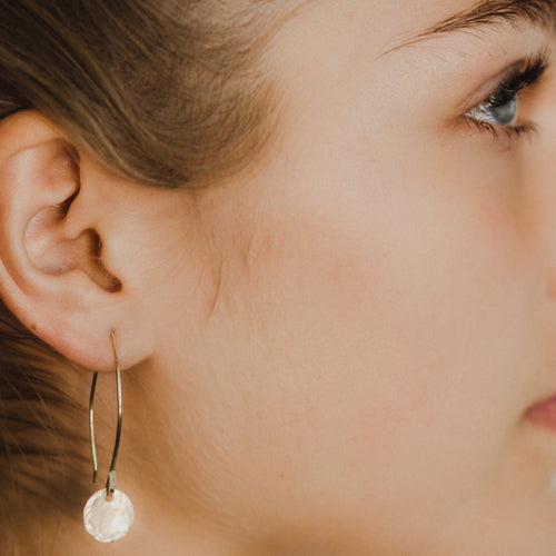 B E T S Y | Threader Disc Earring
