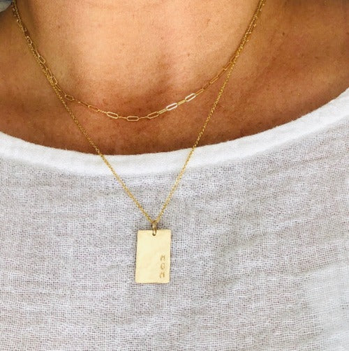 The Rectangle Necklace