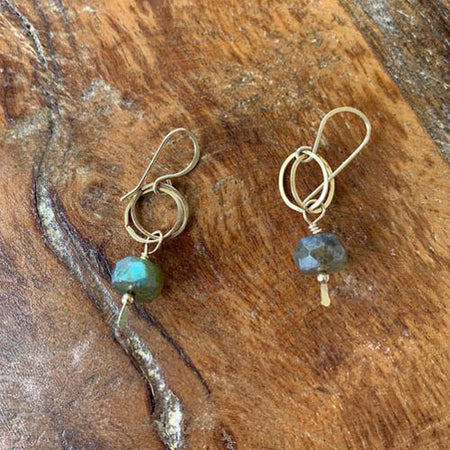 Labradorite Everyday Earrings