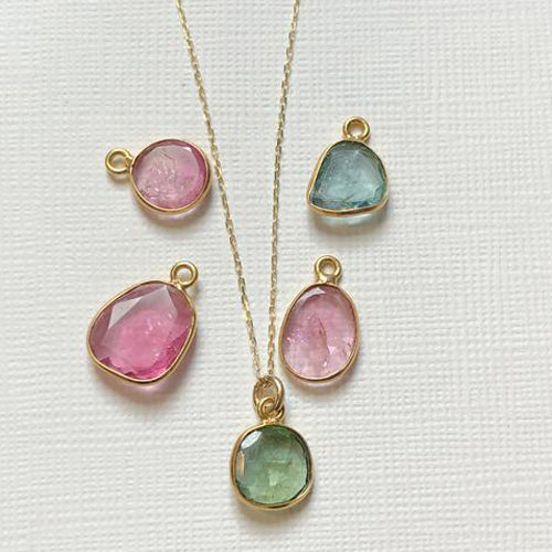 Tourmaline Slice of Heaven Necklace