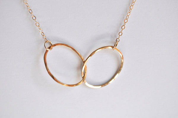 Interlocking Oval Necklace
