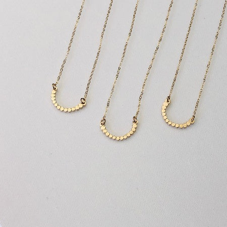 The Celebration Necklace | Gold, Silver, Gold Necklace | TL Jewelry