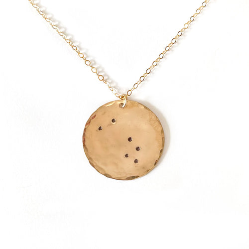 Z O D I A C | Personalized Disc Necklace