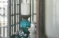 Winter Lantern Vignette