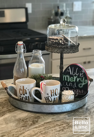 Hot Cocoa Tray Set from Bello Lane
