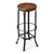 ABBOTT - INDUSTRIAL CHIC - BAR STOOL