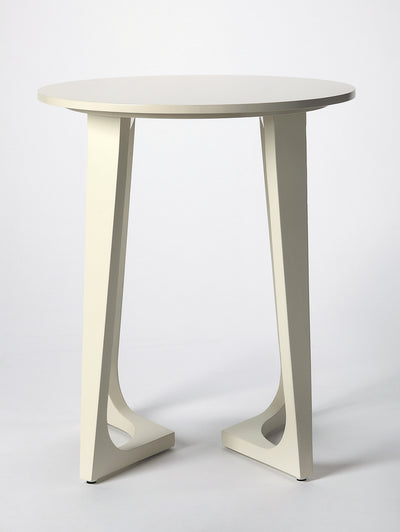 DEVIN - WHITE - ACCENT TABLE