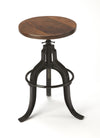 GLADNEY - IRON - REVOLVING BAR STOOL